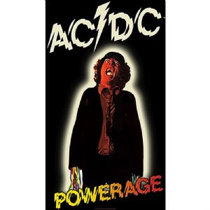 AC/DC Powerage large fabric poster / flag 1100mm x 750mm (rz)
